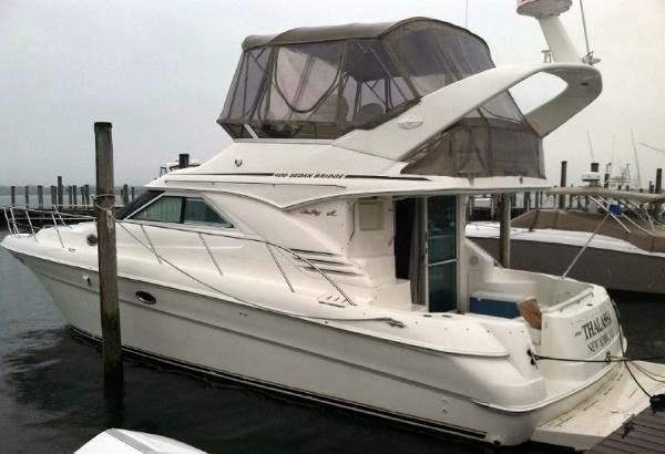 Used Sea Ray 400 Sedan Bridge Motor Yacht For Sale