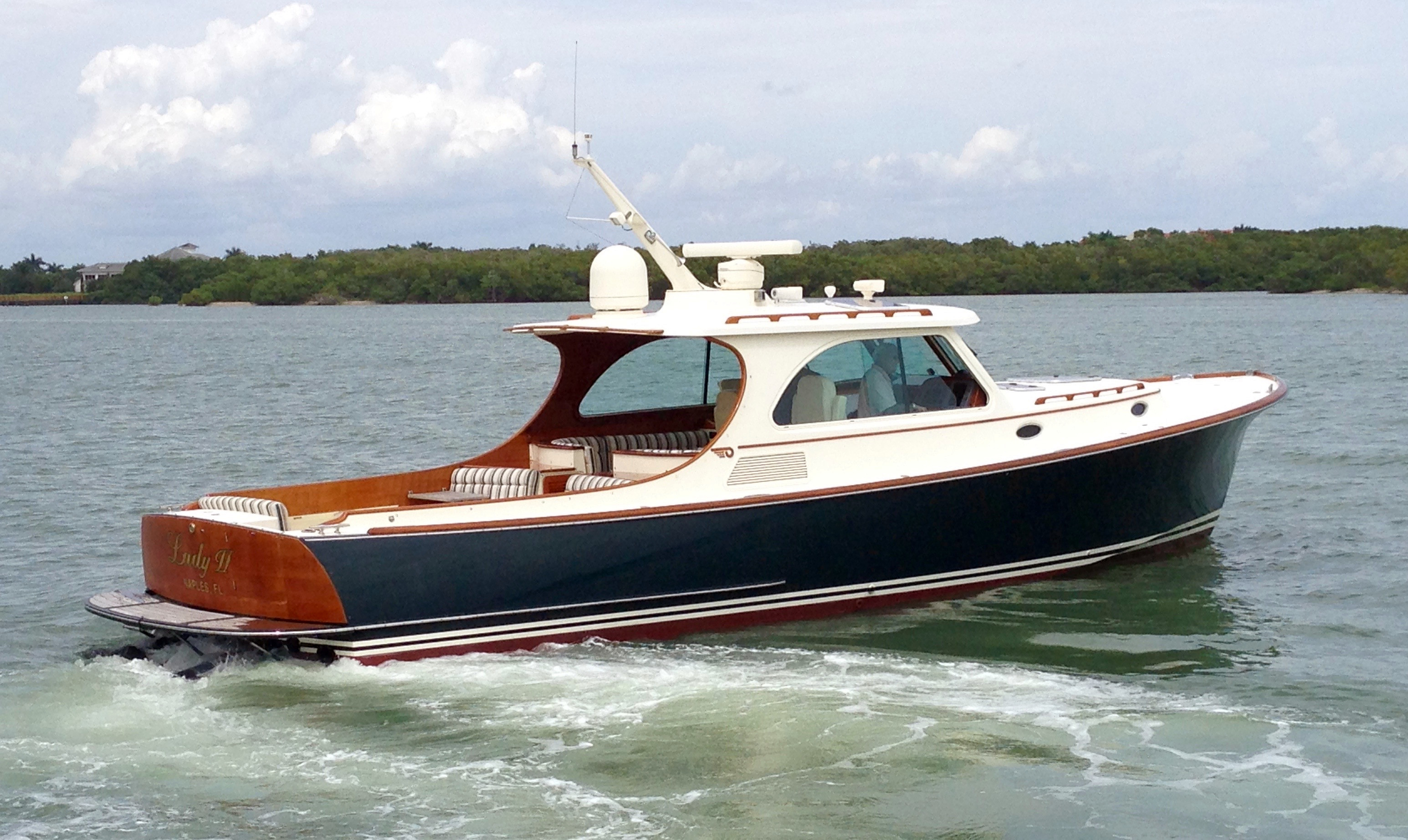 Used Hinckley 40' Talaria Downeast Fishing Boat For Sale