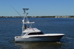 Used Buddy Davis 47 Convertible Flybridge Boat For Sale