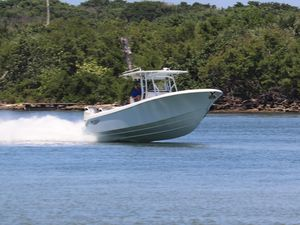 New Bluewater Sportfishing 355E Center Console Fishing Boat For Sale