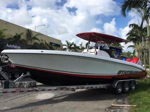 New Statement 35 SUV Open Center Console Fishing Boat For Sale