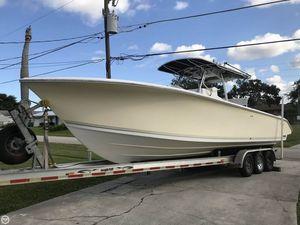 Used Palmetto 33 Custom Adventure Center Console Fishing Boat For Sale