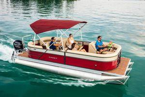 New Crest I 220 SLRDI 220 SLRD Pontoon Boat For Sale