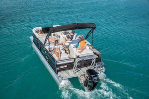 New Crest II 220 SLSII 220 SLS Pontoon Boat For Sale