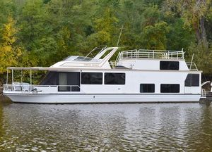 Used Skipperliner Flagship 6350 Penthouse House Boat For Sale
