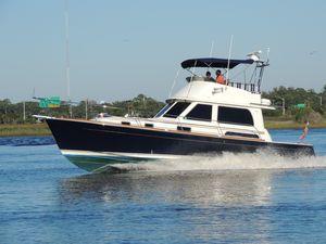 Used Sabre 40 Flybridge Sedan Downeast Fishing Boat For Sale