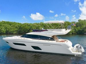 Used Ferretti Yachts 550 Cruiser Boat For Sale