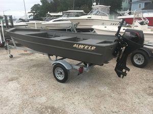 Used Alweld 1548VV Marsh1548VV Marsh Jon Boat For Sale