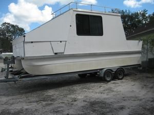 Used Houseboat 26 House Boat For Sale