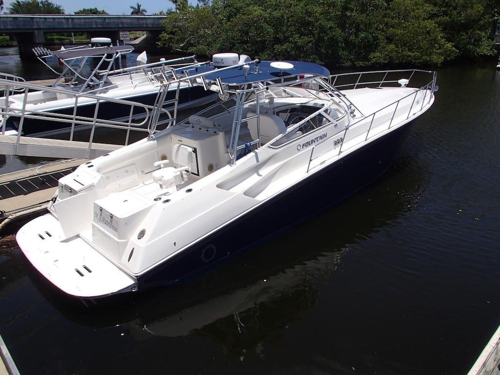 Used Fountain Sportfish Cruiser Center Console Boat For Sale