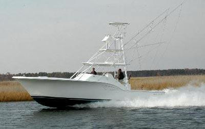 Used Out Island Yachts 38 Express Fisherman Convertible Fishing Boat For Sale