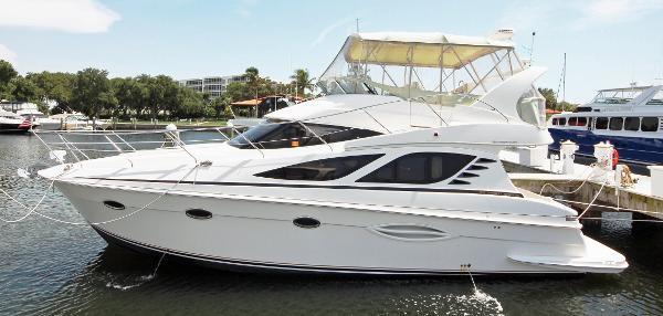 Used Silverton 380 Sport Bridge W/ Diesels Cruiser Boat For Sale