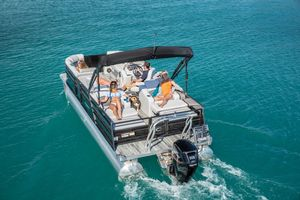 New Crest II 220 SLSII 220 SLS Pontoon Boat For Sale