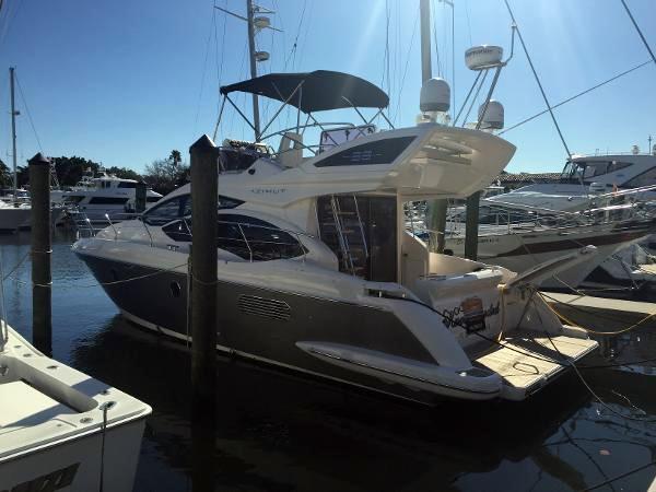 Used Azimut 38 Fly Flybridge Boat For Sale