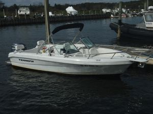 Used Triumph 195 DC Saltwater Fishing Boat For Sale