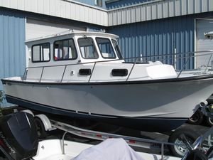 Used Eastern 27 Extended Cabin Downeast Fishing Boat For Sale