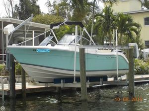 Used Cobia 220 DC Bay Boat For Sale