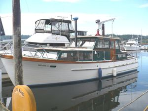 Used Roughwater Pilothouse 35 Trawler Boat For Sale