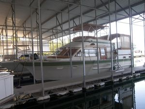 Used Kha Shing Sundeck Trawler Aft Cabin Boat For Sale