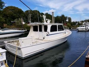 Used Duffy Atlantic Boat Works Downeast Fishing Boat For Sale