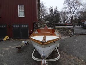 Used Lowell Brothers Amesbury Skiff Antique and Classic Boat For Sale
