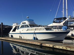 Used Uniflite 41 Fiberglass Motor Yacht Motor Yacht For Sale
