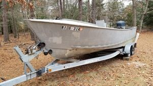 Used Winninghoff Aluminum 22 Center Console Commercial Boat For Sale