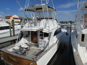Used Buddy Davis 48 Sports Fishing Boat For Sale