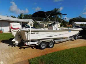 Used Carolina Skiff 238DLV Skiff Fishing Boat For Sale