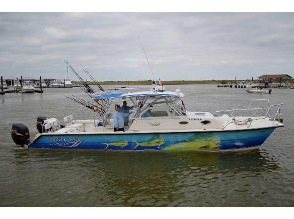Used Twin Vee Sport Cabin Power Catamaran Fishing Boat For Sale