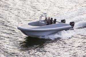 Used Custom Front Street Shipyard T33 Power Catamaran Boat For Sale