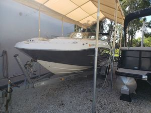 Used Hurricane SunDeck 2400SunDeck 2400 Pontoon Boat For Sale