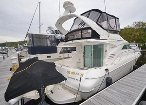 Used Sea Ray 400 Sedan Bridge Convertible Fishing Boat For Sale