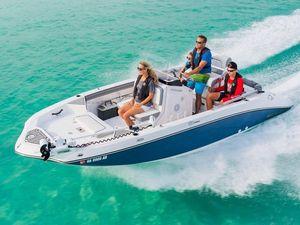 New Yamaha Boats Marine 190 FSH DeluxeMarine 190 FSH Deluxe Jet Boat For Sale