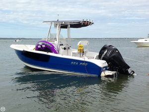Used Sea Pro 20 CC Center Console Fishing Boat For Sale