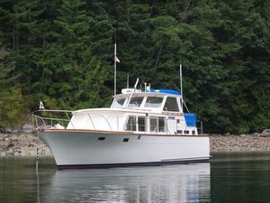 Used Roughwater 41 Trawler Boat For Sale