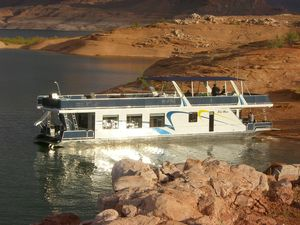 Used Sumerset Blue Moon Trip 6 House Boat For Sale