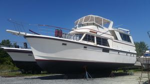 Used Atlantic Motor Yacht Long Range Trawler Motor Yacht For Sale