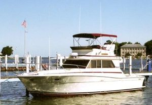 Used Viking Boats 35 Convertible Motor Yacht For Sale