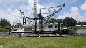 Used Custom Built 50 Commercial Boat For Sale