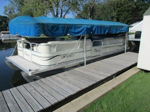 Used Odyssey Pontoons 322CR322CR Pontoon Boat For Sale