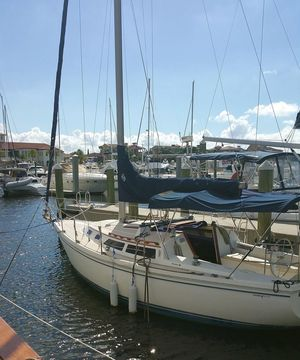 Used Catalina 30' Sloop Cruiser Sailboat For Sale