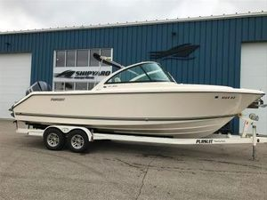 Used Pursuit 265 DC265 DC Walkaround Fishing Boat For Sale