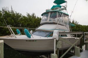 Used Tiara 3300 Flybridge Saltwater Fishing Boat For Sale