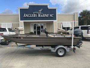 Used Alweld 16521652 Aluminum Fishing Boat For Sale