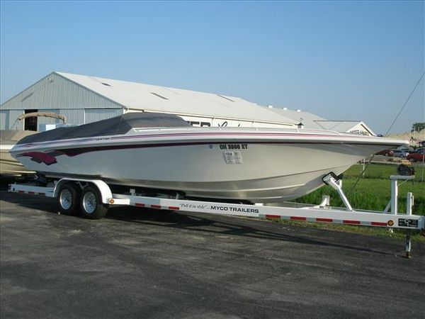 Used Fountain 32 Fever Cruiser Boat For Sale