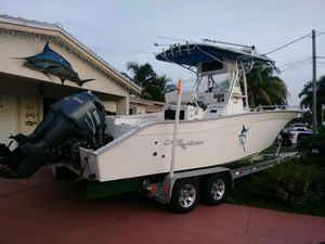 Used Cape Horn 24 Center Console Center Console Fishing Boat For Sale