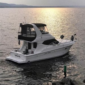 Used Silverton 34C Sedan Bridge Motor Yacht For Sale