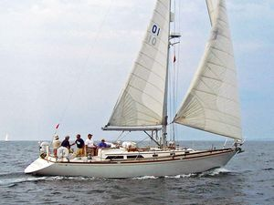 Used Alden 43 Aft Cockpit Cruiser Sailboat For Sale