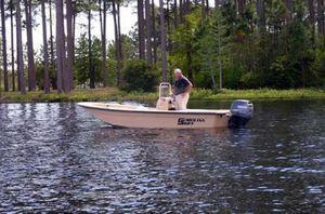 Used Carolina Skiff JVX-Series JVX16CCJVX-Series JVX16CC Flats Fishing Boat For Sale